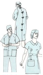 Gowns - Surgeon / Nurse Uniforms